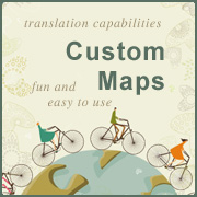 Custom Google maps and map design